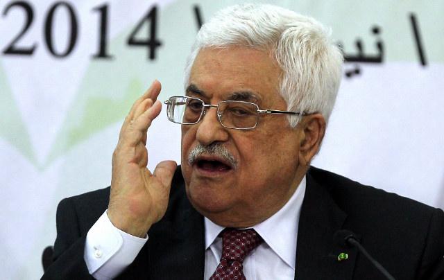 عباس يدين إطلاق صاروخ من غزة على جنوب إسرائيل