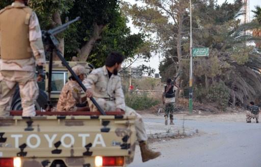 ضحايا في بنغازي جراء هجوم انتحاري