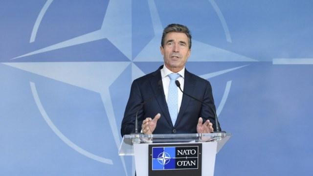 راسموسن:لا يملك الناتو تفويضا لتسوية الوضع الأمني في العراق