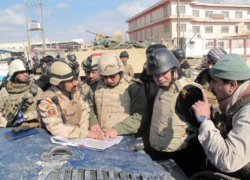 معارك بين الجيش العراقي و
