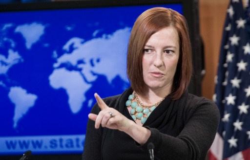 بساكي لا تسمع باستخدام سلاح محرّم في شرق أوكرانيا.. ما لم تتهم موسكو
