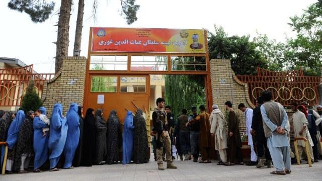 انتهاء التصويت في الجولة الثانية من الانتخابات الرئاسية الأفغانية