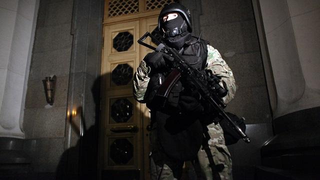 العثور على عبوة ناسفة قرب مبنى إدارة الرئاسة الأوكرانية