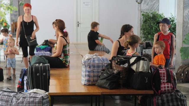 أكثر من 10 ألف لاجئ أوكراني وصلوا روسيا في الـ24 ساعة الأخيرة