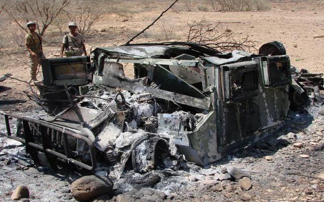 مقتل 5 مسلحين في غارة لطائرة بدون طيار جنوب اليمن