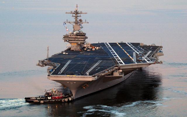واشنطن ترسل حاملة طائرات إلى الخليج تحسبا لتطورات الأزمة العراقية