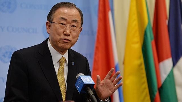 بان كي مون: تدهور الوضع الإنساني في أوكرانيا يستدعي وقفا فوريا للعنف