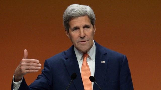 كيري: المساعدات الأمريكية لن تنجح إلا في حالة توحد الزعماء العراقيين
