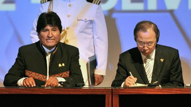 الرئيس البوليفي: مجلس الأمن ينفذ أجندات الامبراطوريات وهو مجلس عدم الأمن