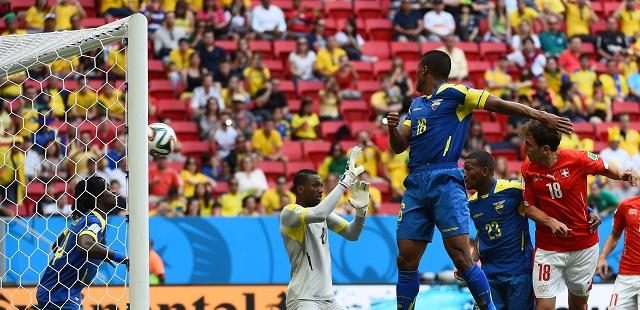 فوز مستحق لسويسرا على الإكوادور 2-1 في المجموعة الخامسة للمونديال