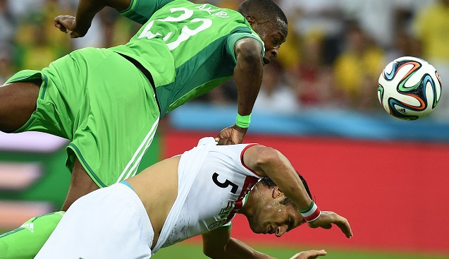 لا غالب ولا مغلوب بين إيران ونيجيريا في المجوعة السادسة لمونديال البرازيل