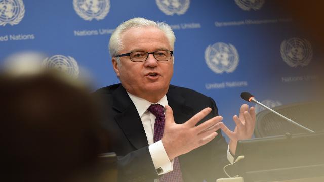 مندوب روسيا لدى الأمم المتحدة يقدم مشروع قرار معدلا بشأن أوكرانيا