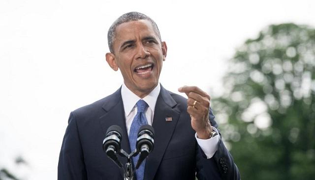 أوباما يخطر الكونغرس بعزمه إرسال نحو 275 عسكريا إلى العراق