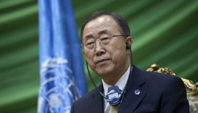 بان كي مون يستنكر الأعمال الارهابية في العراق