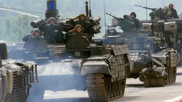 عربة دعم الدبابات