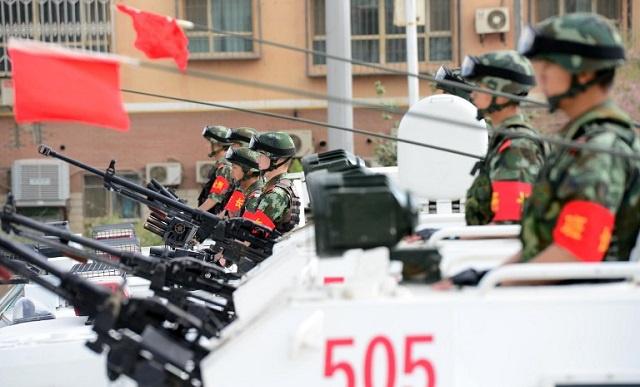 مقتل 17 جنديا صينيا في انفجار مستودع للذخائر