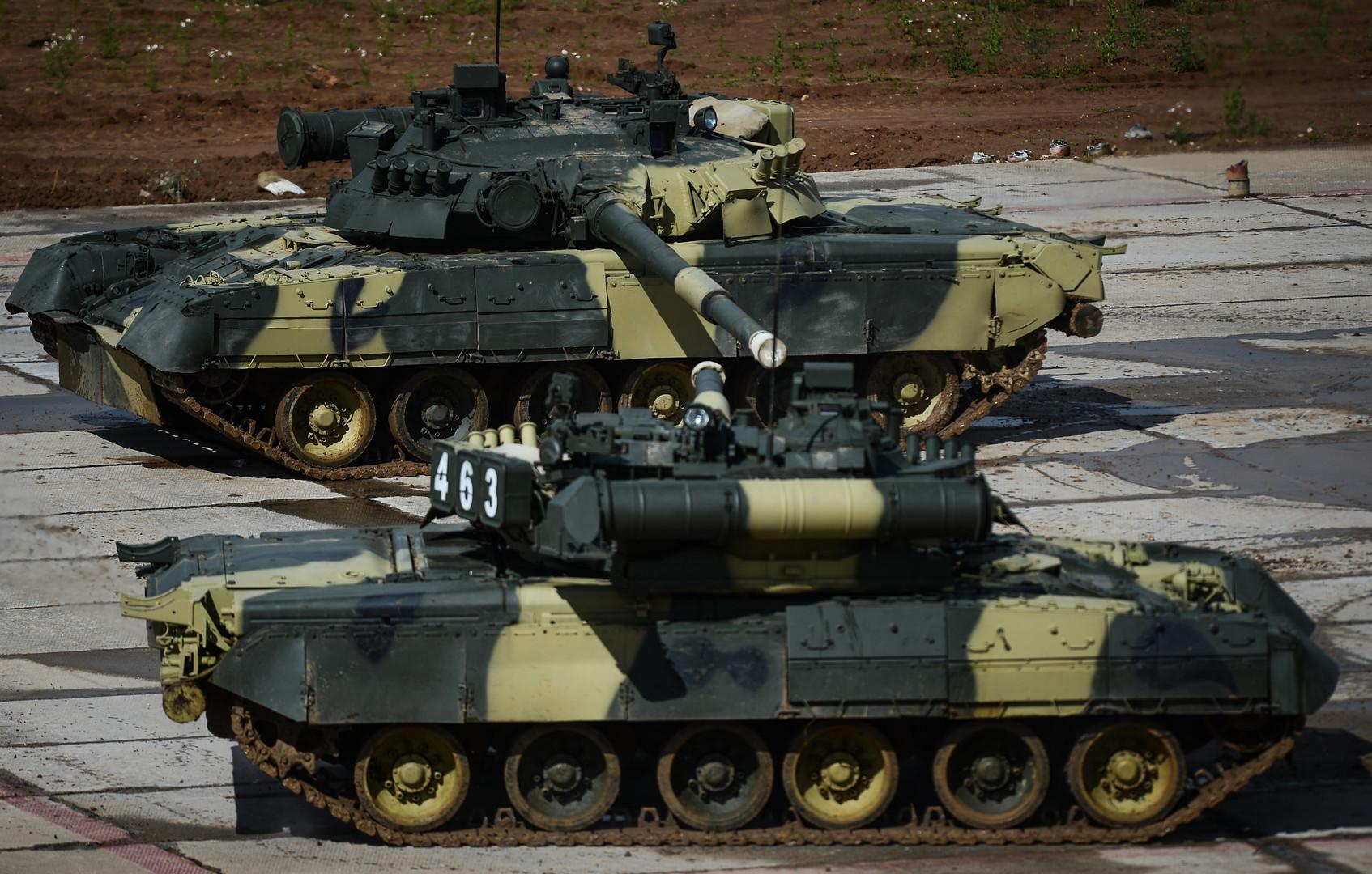 عروض &;باليه الدبابات&; بواسطة دبابات تي