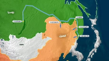 غازبروم تبدأ في أغسطس بناء خط قوة سيبيريا في إطار عقد لتزويد الصين بالغاز خلال 30 عاما