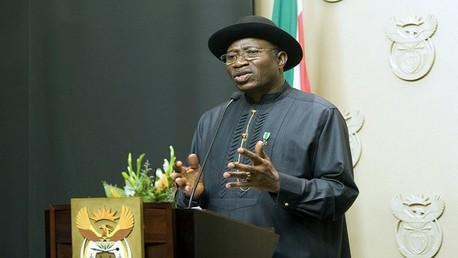 الرئيس النيجيري جودلاك جوناثان