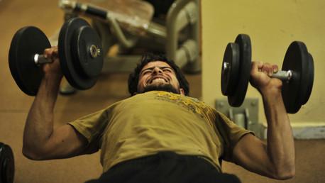 ارهاق العضلات بعد ممارسة التمرينات الرياضية