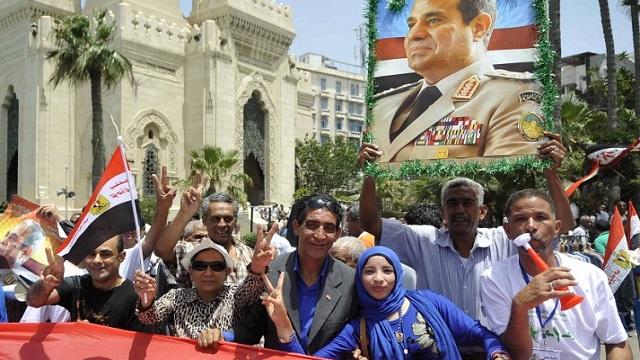 عبد الفتاح السيسي رئيسا لمصر