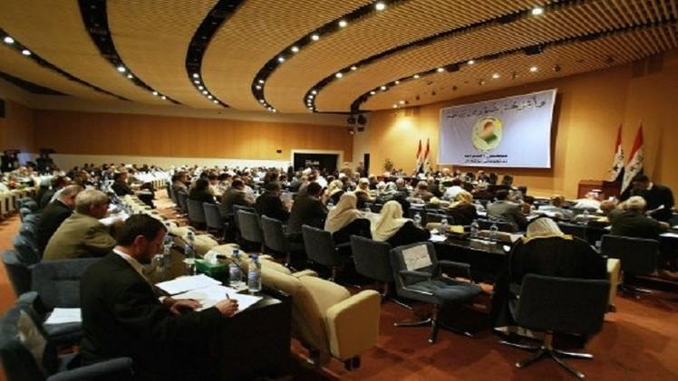 رفع جلسة البرلمان العراقي الأولى لمدة أسبوع بسبب عدم اكتمال النصاب