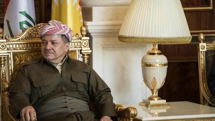 البارزاني يعتزم إجراء استفتاء لاستقلال كردستان عن العراق خلال أشهر