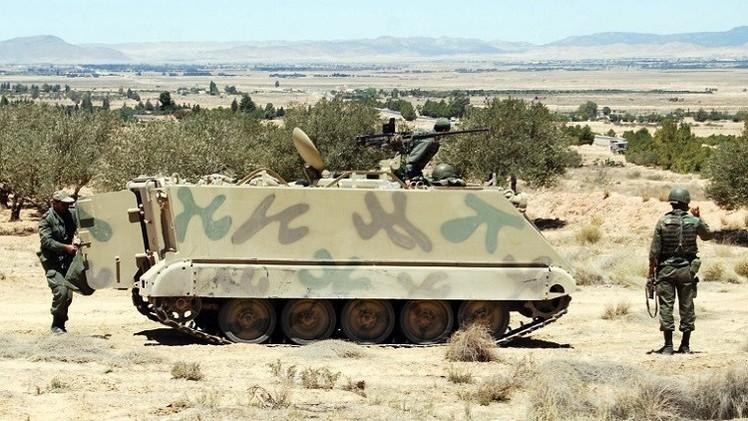 تونس.. إصابة 4 عسكريين و وشرطيين من الدرك في انفجار لغم بمحافظة الكاف