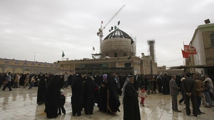 مقتل وإصابة 15 شخصا بسقوط قذائف قرب مرقد الإمامين العسكريين في سامراء