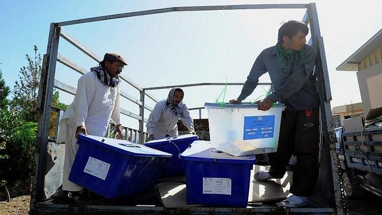 تأجيل إعلان نتائج الجولة الثانية للانتخابات الرئاسية في افغانستان