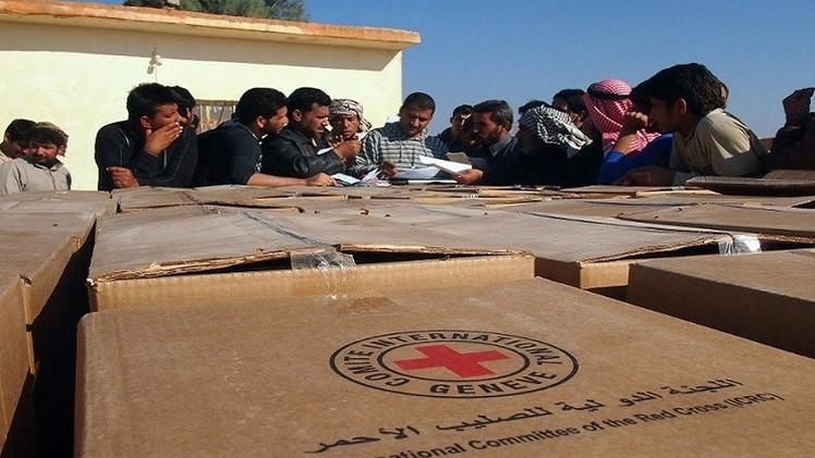 الصليب الأحمر والهلال الأحمر العراقي يطلبان مساعدة المانحين