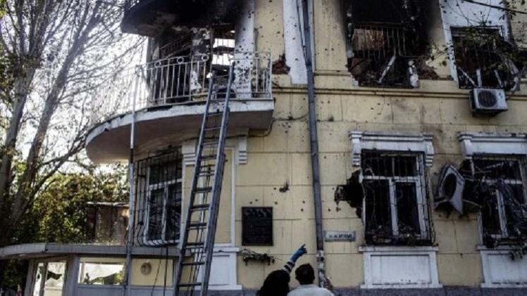 موسكو تطالب كييف بالكف عن قصف المدن الأمنة