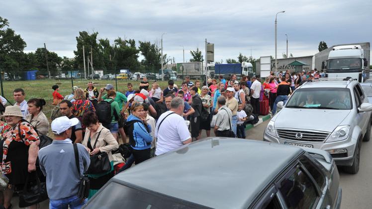 لافروف يأسف لقلة اهتمام الإعلام الأجنبي بوضع اللاجئين الأوكرانيين
