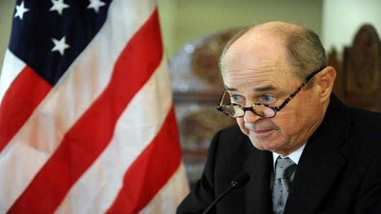 المبعوث الأمريكي إلى افغانستان يستقيل من منصبه