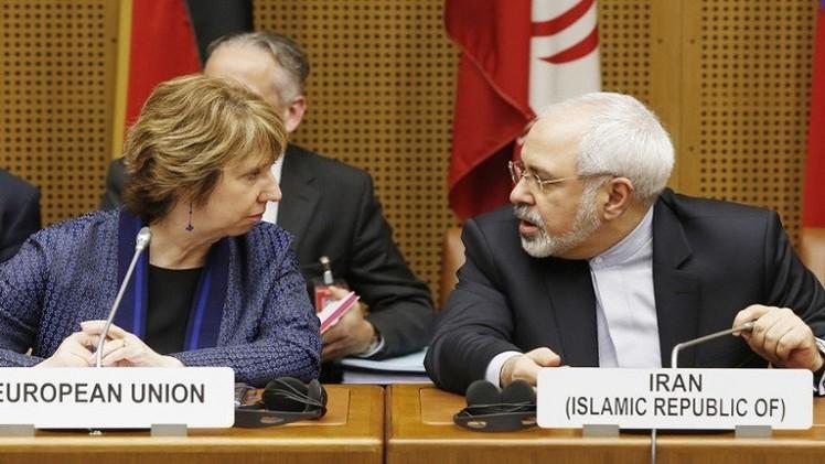 آشتون وظريف يلتقيان قبيل انطلاق جولة المفاوضات النووية السادسة