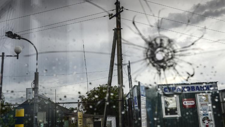 سقوط قذائف أطلقت من أوكرانيا على معبر روسي يربط البلدين