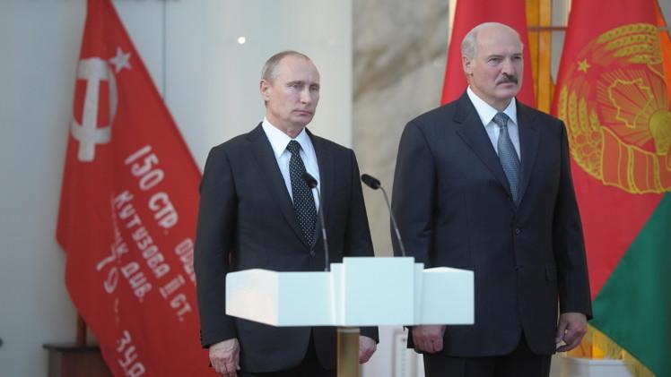 بوتين في مينسك يشيد بمواصلة تعزيز العلاقات مع بيلاروس في إطار الاتحاد بين البلدين