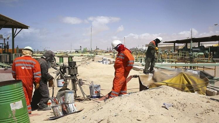 هبوط أسعار النفط مع إعلان ليبيا انتهاء أزمتها النفطية