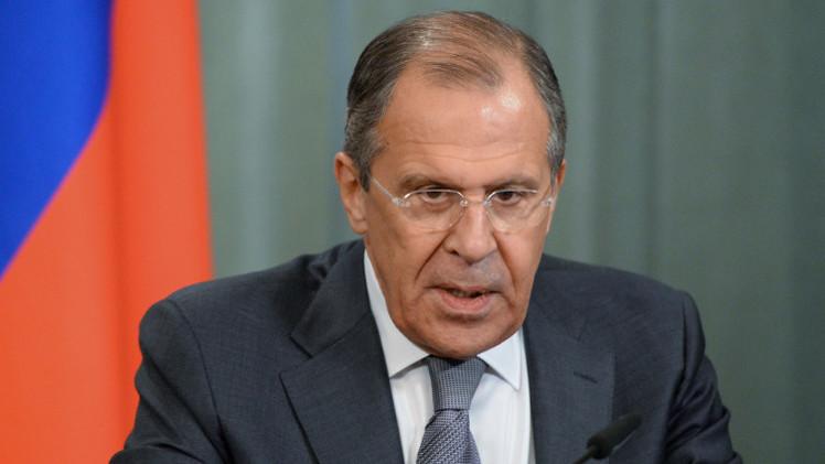 لافروف: من الضروري تنسيق إجراءات وقف إطلاق النار في أوكرانيا بين طرفي النزاع