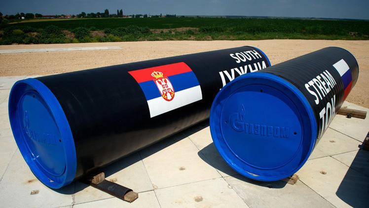 شركة روسية تفوز بعطاء لمد السيل الجنوبي في صربيا