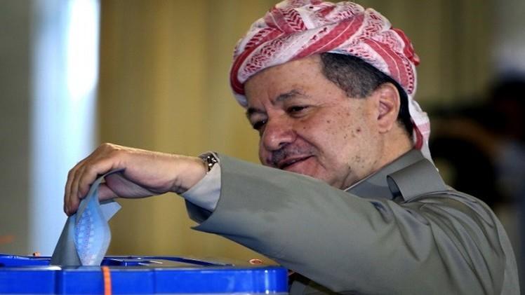 بارزاني يدعو برلمانه لتحديد موعد استفتاء لانفصال كردستان