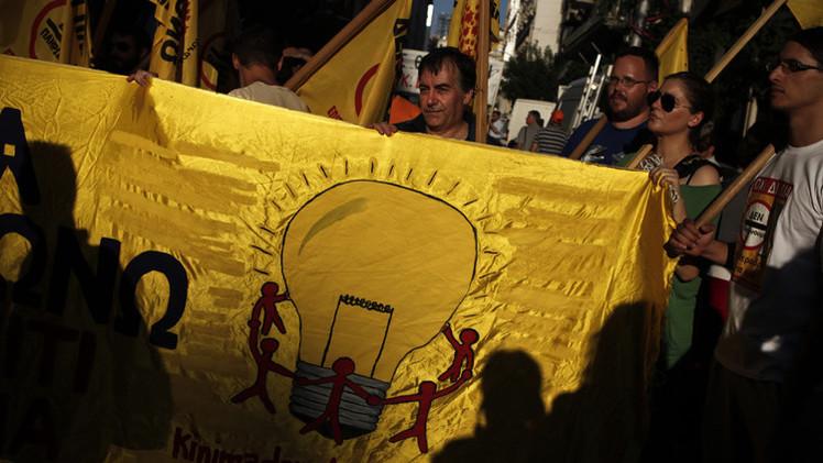 الإضراب يقطع الكهرباء في ذروة الموسم السياحي باليونان