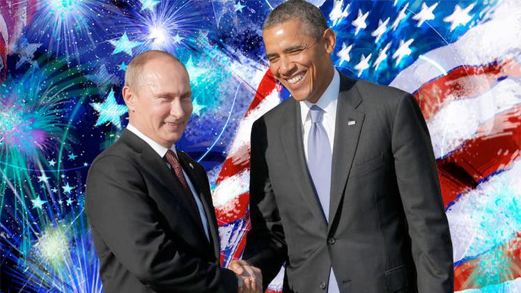 بوتين يهنئ أوباما بيوم الاستقلال ويدعوه للتعاون لحفظ الامن والاستقرار الدولي