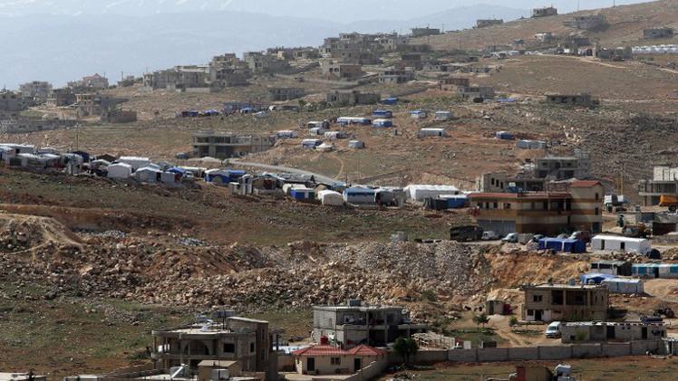 مقتل 4 أشخاص بغارات للطيران السوري على عرسال اللبنانية