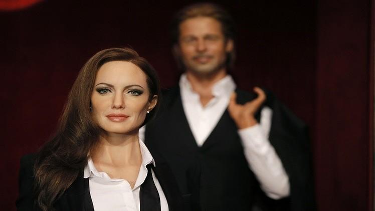 بالشمع.. أنجيلينا جولي تنضم لزوجها براد بيت بمتحف غريفان في باريس