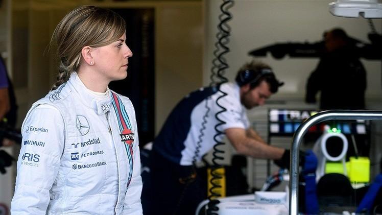 وولف أول امرأة تشارك في الفورمولا 1 منذ 22 عاما