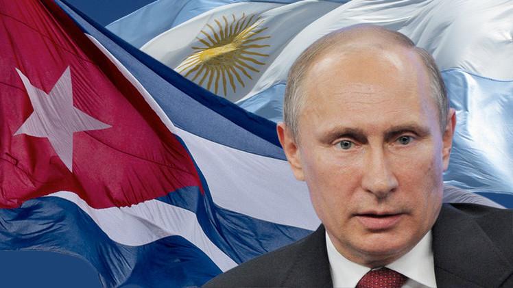 بوتين يزور كوبا والأرجنتين الأسبوع المقبل لبحث تعزيز التعاون الثنائي