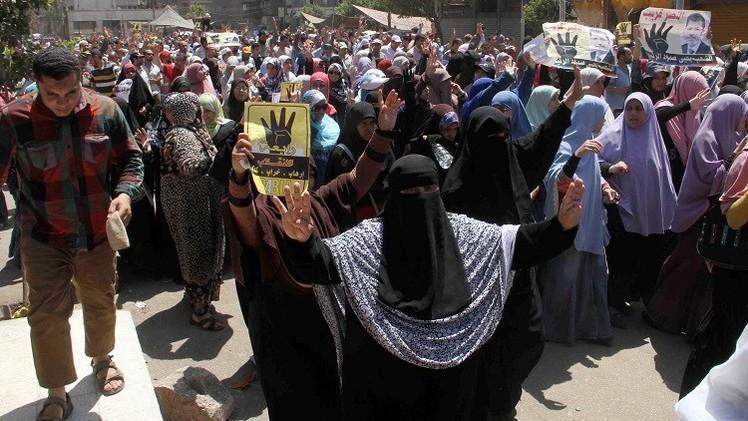 الأمن المصري يفرق مسيرة للإخوان بالبحيرة ويشتبك مع أخرى بالقاهرة