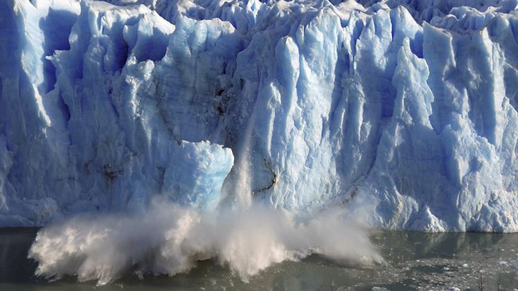 ثاني أكسيد الكربون يقذف بكميات كبيرة كما في زمن انتهاء العصر الجليدي