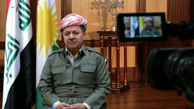 بارزاني: العراق سيتفكك لا محالة